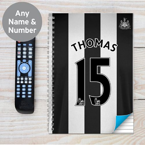 Newcastle United A4 Notebook